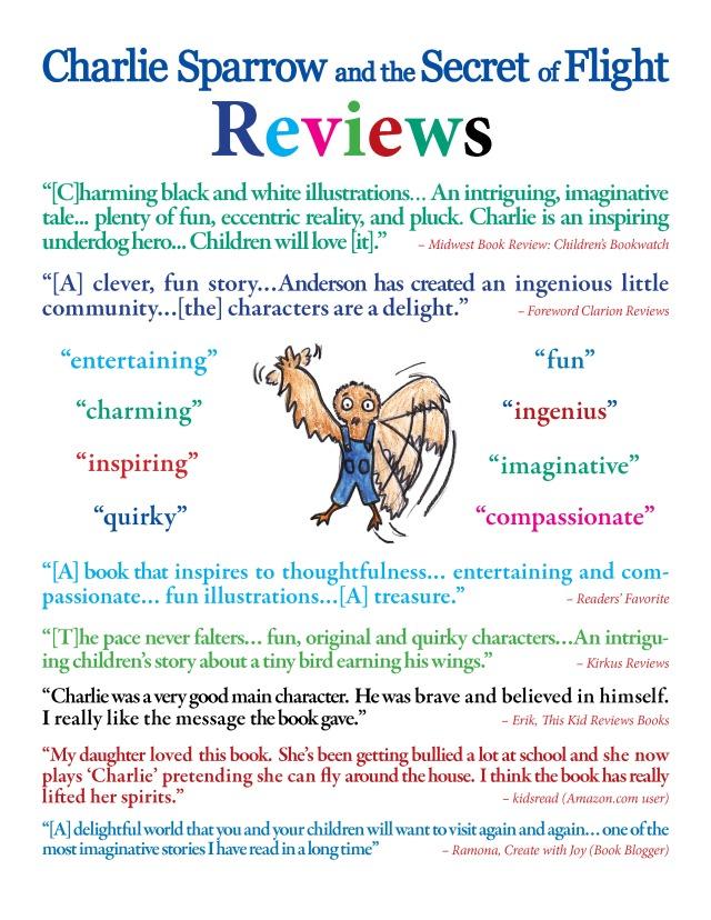 Reviews page - Book Fair - design 5
